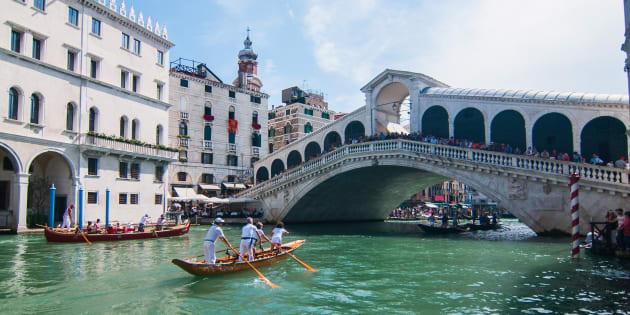 Vous devrez bientôt payer pour entrer à Venise (Photo d'illustration prise à Venise, le 2 septembre 2018).