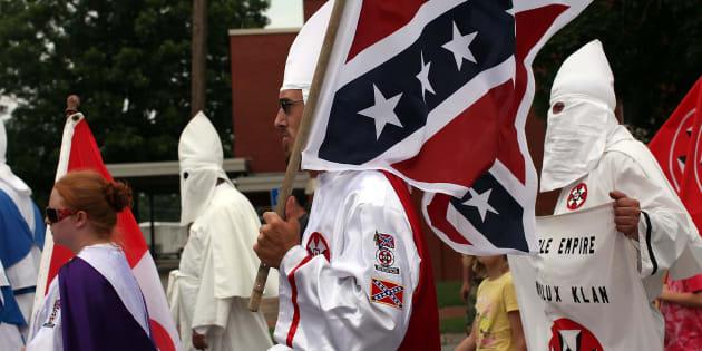 Effroi aux États-Unis après l'appel d'un journal au retour du Klu Klux Klan (Photo d'illustration prise le 11 juillet 2009 à Pulaski)