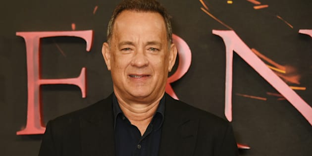 BERLIN, GERMANY - OCTOBER 10:  Actor Tom Hanks attends the German premiere of the film 'INFERNO' at Sony Centre on October 10, 2016 in Berlin, Germany. (Photo by Franziska Krug/Getty Images )