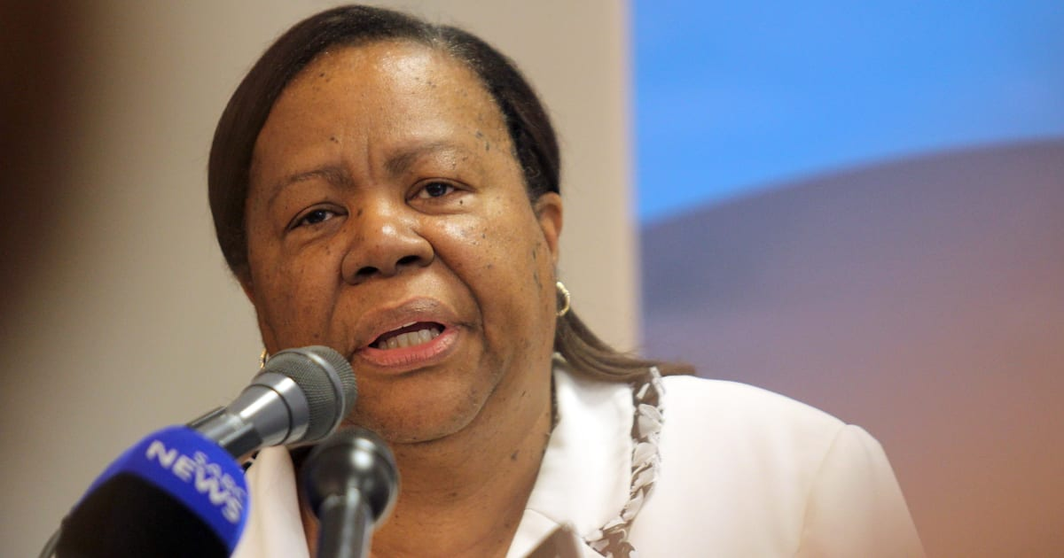 Minister Naledi Pandor Says The ANC Failed To Implement