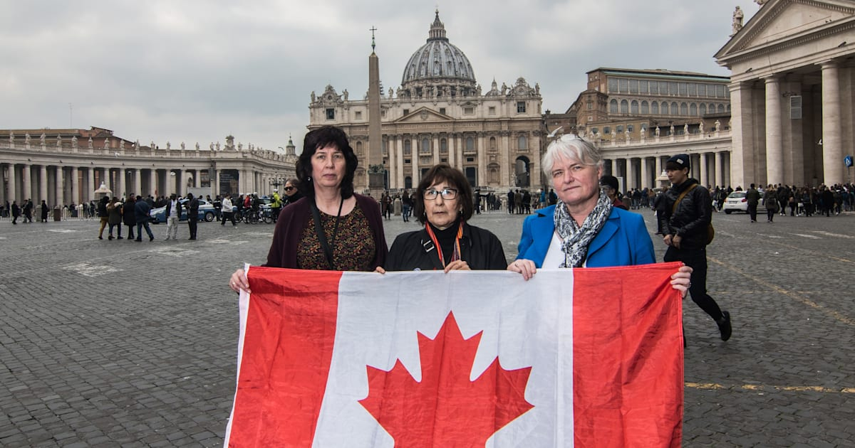 Canadian Sex Abuse Survivors Shed Their Shame At Historic Vatican Summit