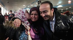 Syrian Refugees Halted By Trump's Travel Ban Make Long-Awaited Reunion With