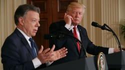 Presidente de Colombia prefiere la colaboración, en vez de los muros, para combatir tráfico de