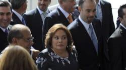 Elba Esther pide a maestros del SNTE votar por Delfina, según