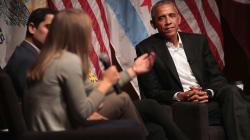 De retour, Obama se donne comme mission de former la nouvelle génération de leaders