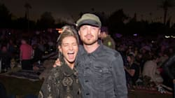 Aaron Paul Planned The Most Epic Surprise For His Wife's 30th