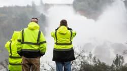 Tens Of Thousands Evacuate As California Dam Spillway Threatens