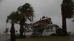 Les premières images impressionnantes de l'ouragan
