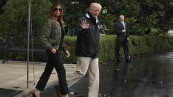 Melania Trump ridiculisée par rapport à son look pour se rendre aux inondations au