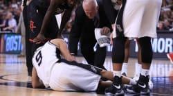 Fin de saison pour Tony Parker après une blessure au