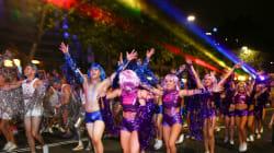 Sydney Sparkles For Gay And Lesbian Mardi