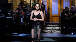 Kristen Stewart Rocked Spanx As A Dress On 'SNL' And It Actually Looked