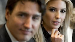 Ivanka Trump Looked Thirsty AF While Glancing At Justin