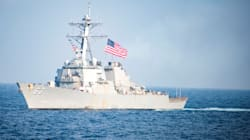 Sfida navale alla Cina. Nave Usa in mar cinese meridionale vicino a isola