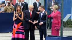 La primera dama de Polonia 'torea' a