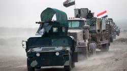 Les forces irakiennes sont entrées dans