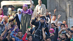 Kashmir Under Lockdown Fearing Protests After Militant Sabzar Ahmad Bhat's