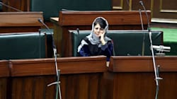 Violent Protests In J&K Assembly Over Mehbooba Mufti's Remarks On Article