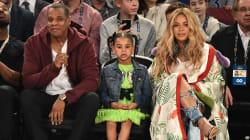 Beyoncé et sa famille ont volé la vedette aux joueurs du All-Star