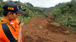 Dozens Buried In Landslide In Java,