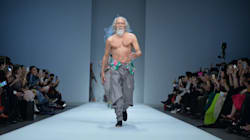 80-Year-Old Model Crushes Stereotypes With His Runway