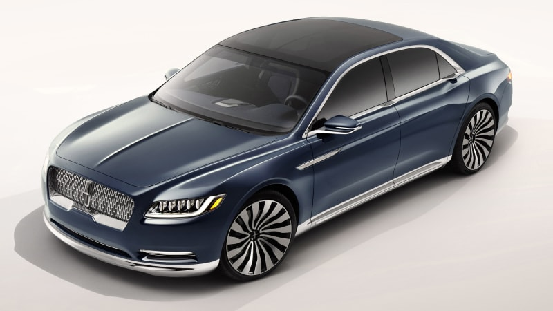 The Lincoln Continental is back wvideos  Autoblog