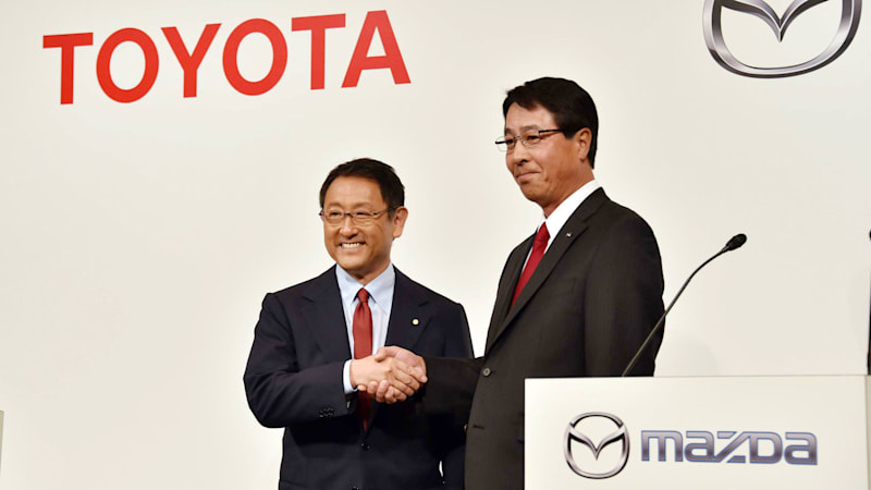 Toyota and Mazda in talks to build joint US auto plant