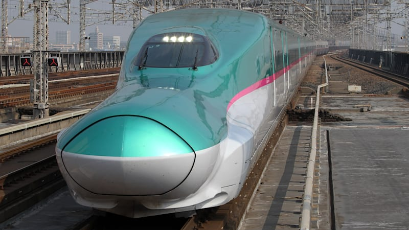 photo image Japan is spending years making one train line a minute faster