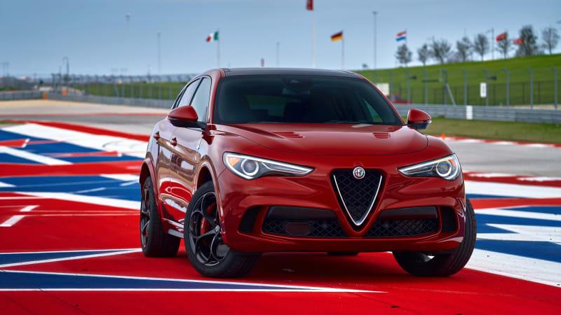 2018 Alfa Romeo Stelvio Quadrifoglio Drivers