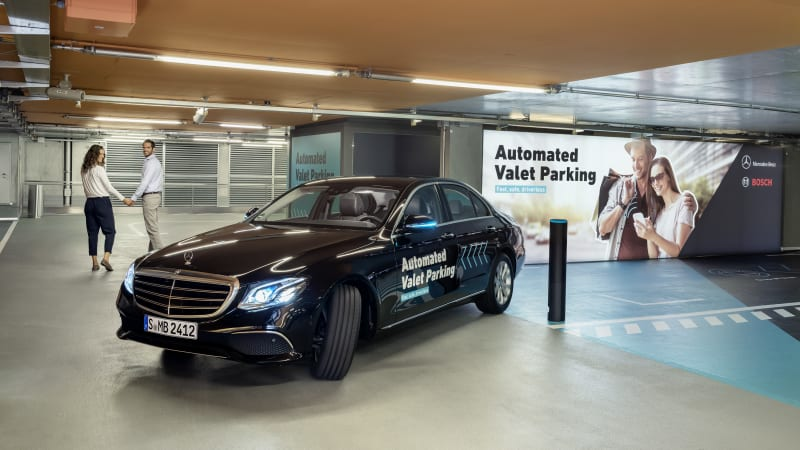 Daimler, Bosch Testing Autonomous Parking at the Mercedes-Benz Museum
