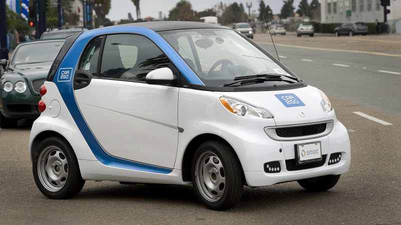 Someone Is Tipping Over Car2go Smart Fortwos Again Autoblog