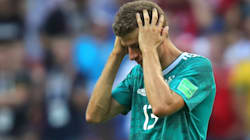Germany Knocked Out Of World Cup In Stunning