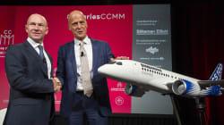 Airbus ne compte pas racheter Bombardier et l'État québécois dans la