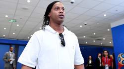 Cerimônia de encerramento da Copa da Rússia tem Ronaldinho Gaúcho no