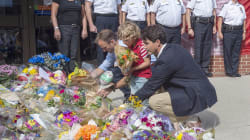 Trudeau Meets With Families Of Slain Fredericton Police