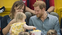 Watch This Tiny Bandit Steal Prince Harry's