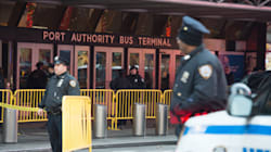 Explosion au Port Authority Bus Terminal à New