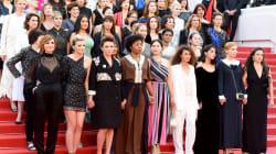 Au Festival de Cannes, 82 femmes du 7e Art sur les marches pour réclamer l'égalité