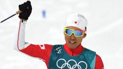 渡部暁斗、2大会連続の銀メダル、ノルディック複合(平昌オリンピック)