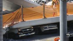 VIDEO: Colapsa puente en Florida; hay varios