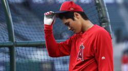 大谷翔平、左足首の軽度ねんざで交代 明日ヤンキース戦で田中将大との対決なるか?