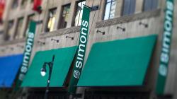 Et une autre boutique Simons au