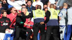 Mourinho avait pourtant promis de rester calme ce