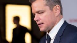 Matt Damon dit finalement la bonne chose à propos du harcèlement
