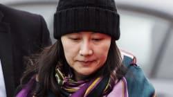 Les États-Unis demandent l'extradition de Meng