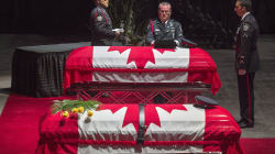 Thousands Gather At Funeral For Slain Fredericton