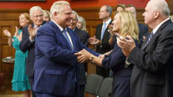 Doug Ford Under Fire For Naming A Cabinet Of Mostly White