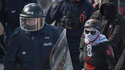 Une présence policière disproportionnée à Québec? Pas selon Martin