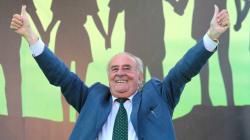 L'ex sindaco di Treviso Giancarlo Gentilini si risposa a 89 anni: