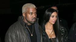 Kim Kardashian et Kanye West attendent leur troisième